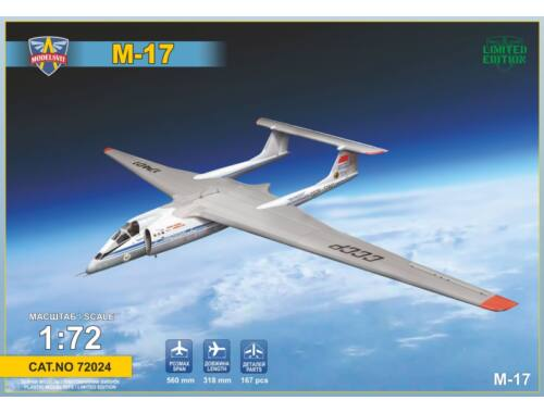 """Modelsvit Myasishchev M-17 """"Stratosphera"""" 1:72 (72024)"""