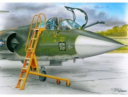 Plus Model Ladder for F-104 1:48 (AL4061)