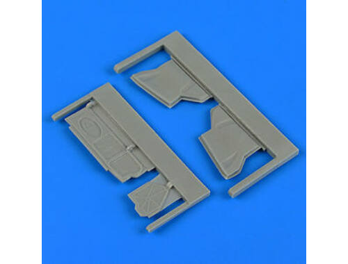 Quickboost Su-25K Frogfoot undercarriage covers for KP/Smér 1:48 (48725)