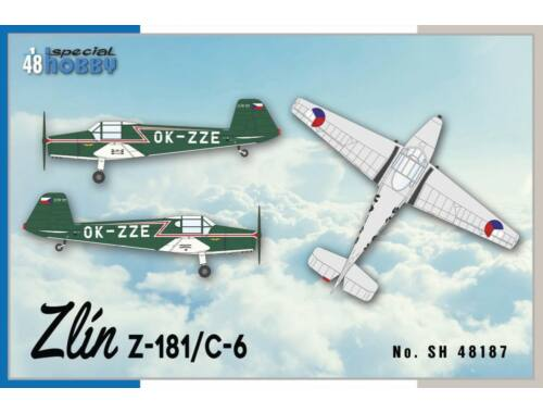 Special Hobby Zlin Z-181 / C-6 1:48 (48187)