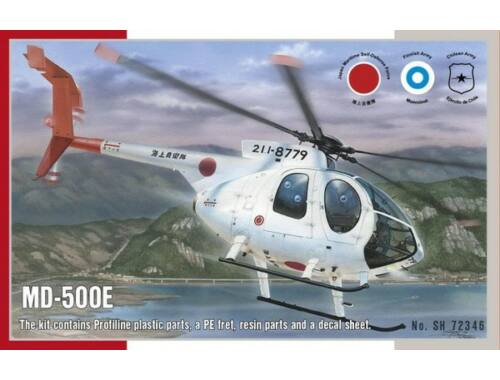 Special Hobby MD500E Helicopter 1:72 (72346)