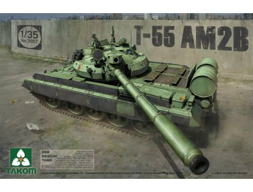 Takom DDR Medium Tank T-55 AM2B 1:35 (2057)