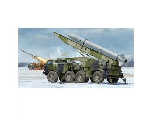 Trumpeter Russian 9P113 TEL w/9M21 Rocket of 9K52 Luna-M Short-range artillery rocket 1:35 (01025)