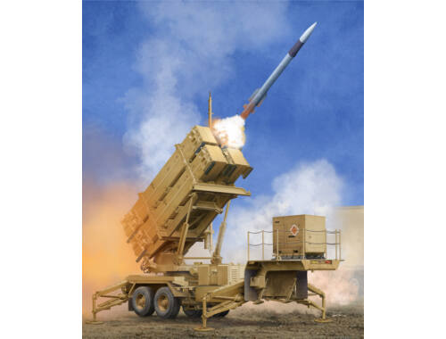 Trumpeter US M901 Launching Station w/MIM-104F Patriot SAM System (PAC-3) 1:35 (01040)