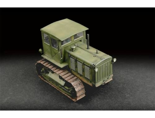 Trumpeter Russian ChTZ S-65 Tractor with Cab 1:72 (07111)