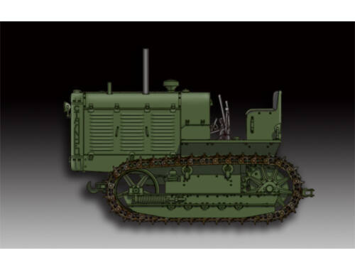 Trumpeter Russian ChTZ S-65 Tractor 1:72 (7112)