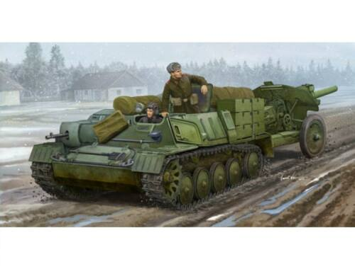 Trumpeter Soviet AT-P artillery tractor 1:35 (09509)