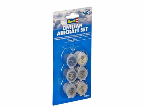 Civilian Aircraft Aqua C. paint Set (39072)