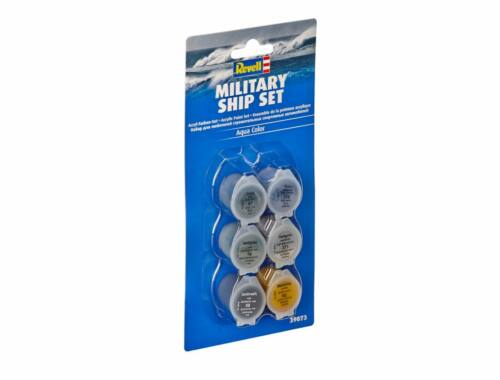Military Ship Aqua C. paint Set (39073)