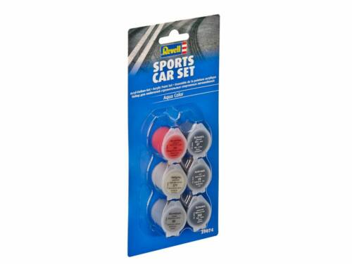 Sports Car Aqua C. paint Set (39074)