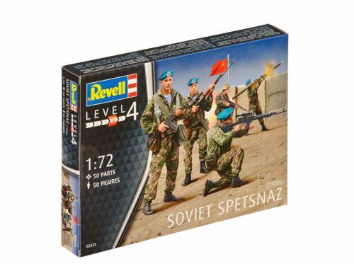 Revell Soviet Spetsnaz 1980 1:72 (2533)