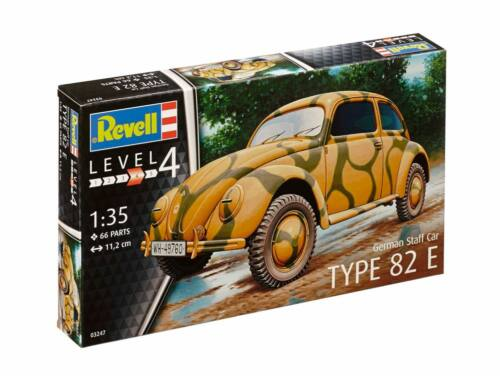 Revell German Staff Car Type 82E 1:35 (3247)
