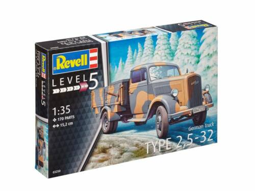 Revell German Truck Type 2,5-32 1:35 (3250)