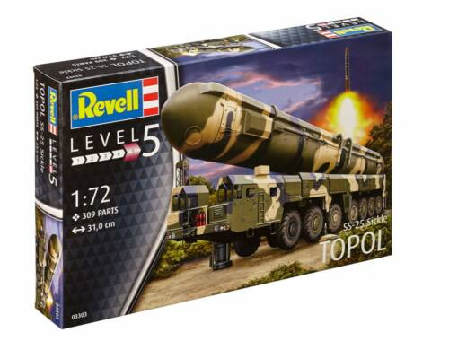 Revell TOPOL SS-25 Sickle 1:72 (3303)