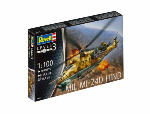 Revell Mil Mi-24D Hind 1:100 (4951)