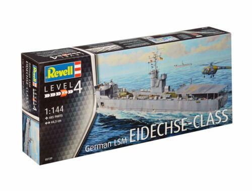 Revell German LSM Eidechse-Klasse 1:144 (5139)