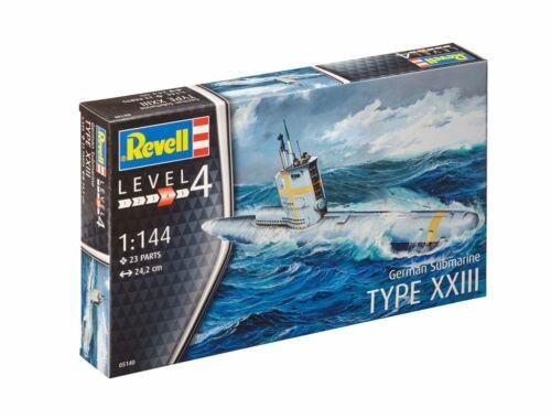 Revell German Submarine Type XXIII 1:144 (5140)
