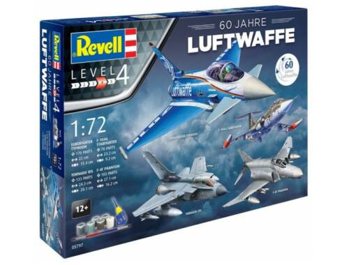 Revell Gift Set Luftwaffe 60 Jahre 1:72 (5797)