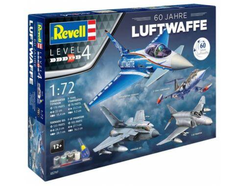 Revell Gift Set Luftwaffe 60 Jahre 1:72 (05797)