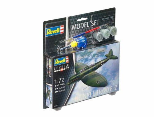 Revell Model Set Heinkel He70 F-2 1:72 (63962)