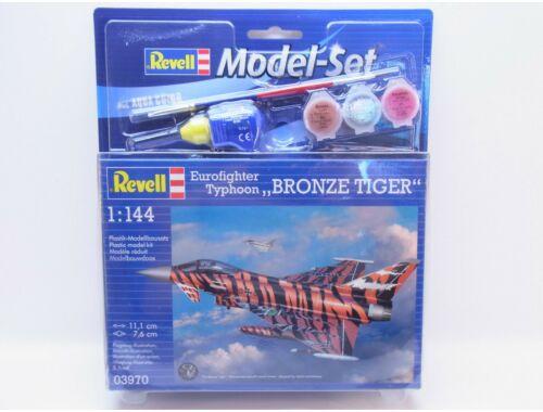 Revell Model Set Eurofighter Typhoon Bronze Tiger 1:144 (63970)