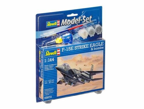 Revell Model Set F-15E STRIKE EAGLE bombs 1:144 (63972)