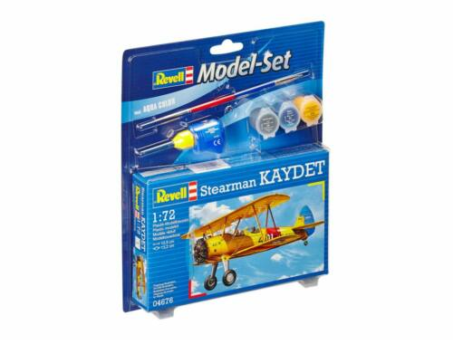 Revell Model Set Stearman Kaydet 1:72 (64676)