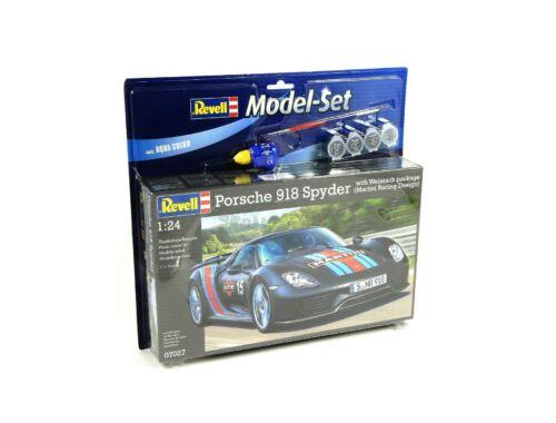 Revell Model Set Porsche 918 Weissach Sport 1:24 (67027)