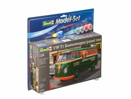 Revell Model Set VW T1 Kastenwagen 1:24 (67076)