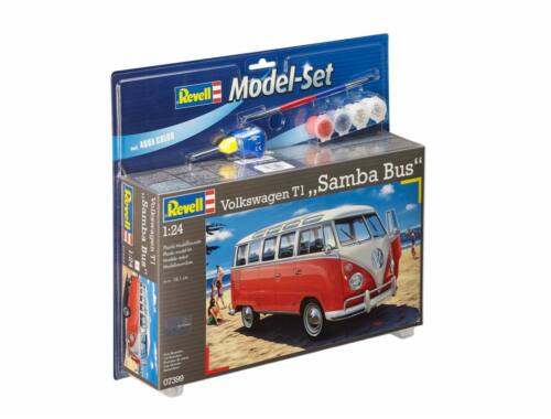 Revell Model Set VW T1 Samba Bus 1:24 (67399)