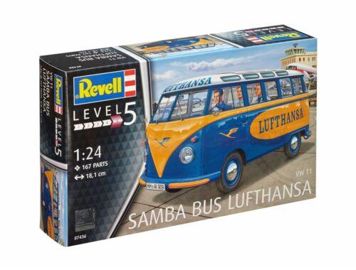 Revell VW T1 Samba Bus Lufthansa 1:24 (7436)