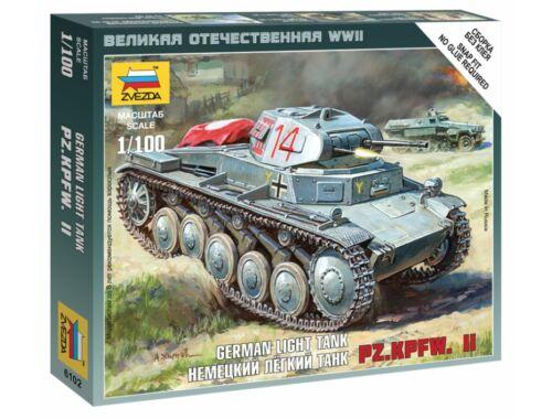 Zvezda German Panzer II 1:100 (6102)