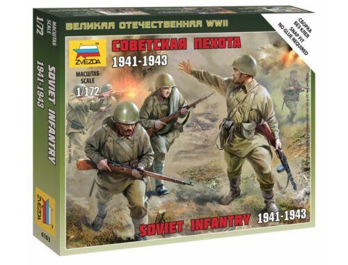 Zvezda Sovielt Infantry 1941. 1:72 (6103)