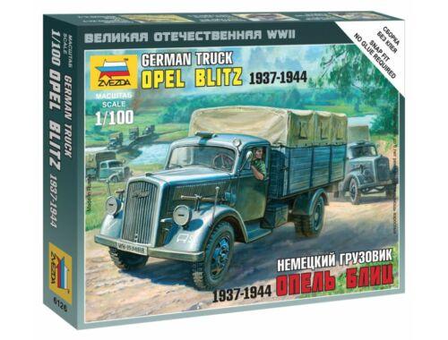 Zvezda German Truck Opel Blitz 1937-1944 1:100 (6126)