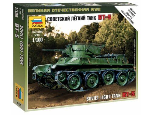 Zvezda Soviet Light Tank BT-5 1:100 (6129)