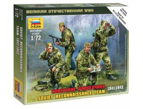 Zvezda Soviet Reconnaissance Team 1:72 (6137)
