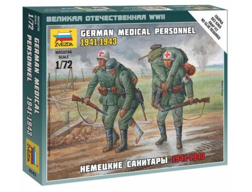 Zvezda German Medical Personnel 41-43 1:72 (6143)