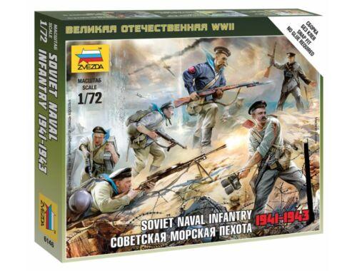 Zvezda Soviet Naval Infantry 1:72 (6146)