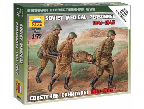 Zvezda Soviet Medical Personnel 41-42 1:72 (6152)