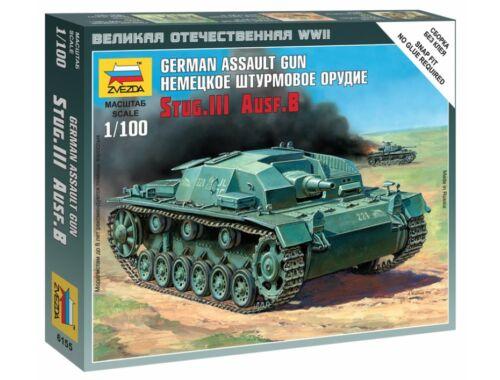 Zvezda Sturmgeschütz III Ausf.B 1:100 (6155)