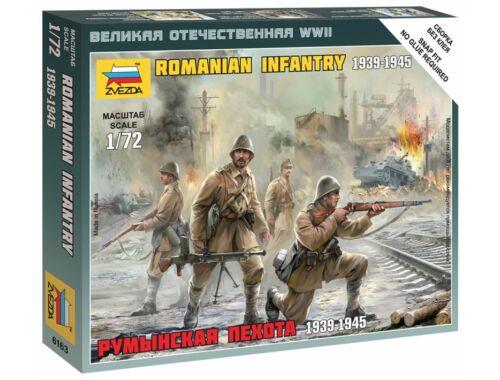 Zvezda Romanian Infantry WWII 1:72 (6163)