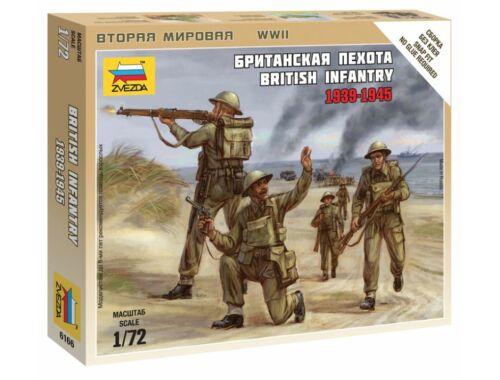 Zvezda British Infantry 1939-42 1:72 (6166)