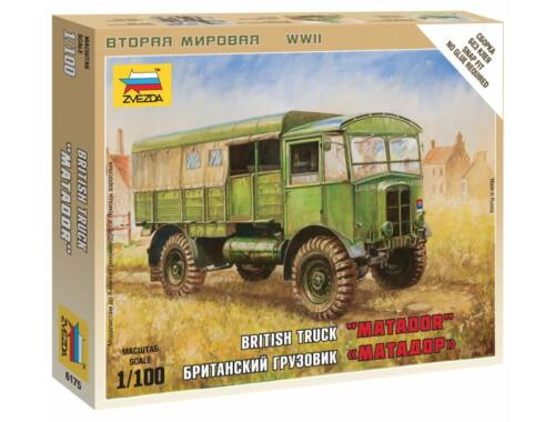 Zvezda British Truck 'Matador' 1:100 (6175)