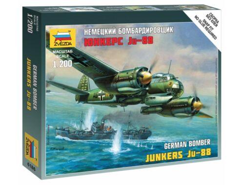 Zvezda Ju-88 A4 1:200 (6186)