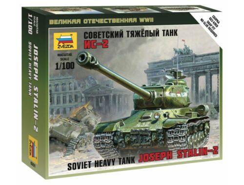Zvezda IS-2 Stalin Military small set 1:100 (6201)