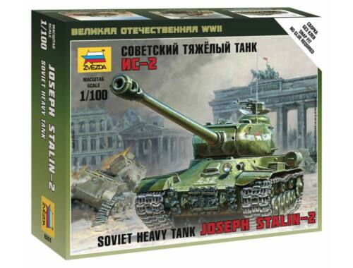 Zvezda IS-2 Stalin Military small set 1:100 (6201)
