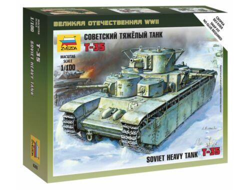 Zvezda Soviet Tank T-35 1:100 (6203)