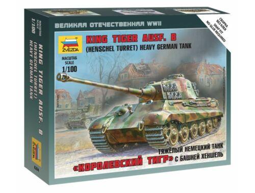 Zvezda Sd. Kfz. 182 King Tiger Henschel 1:100 (6204)