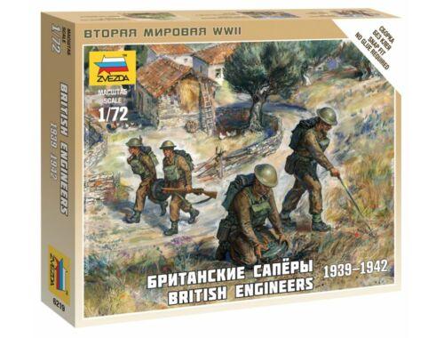 Zvezda British Engineers 1:72 (6219)