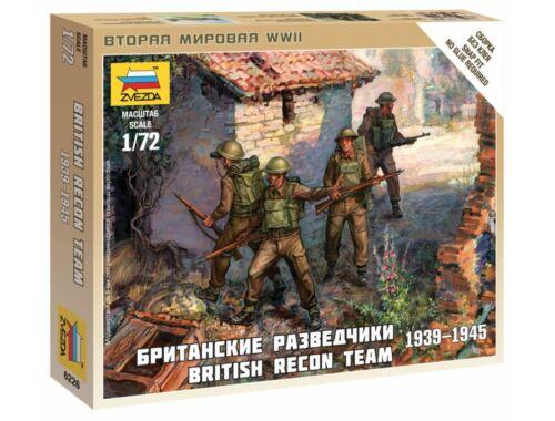 Zvezda British Recon Team 1:72 (6226)